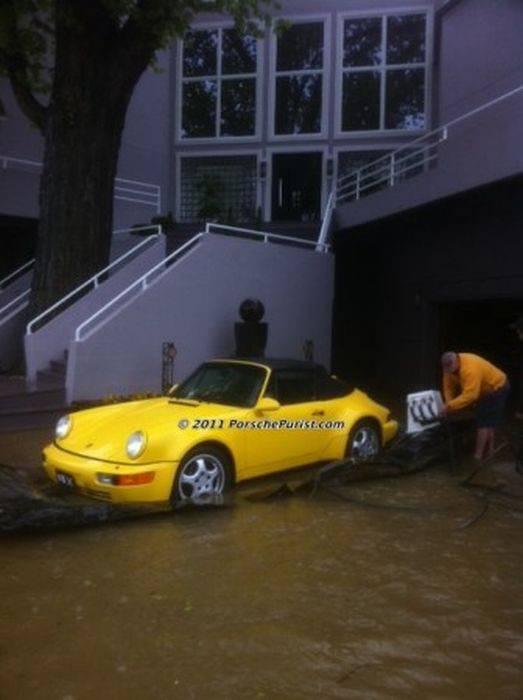 Jak ocalić samochód przed powodzią? 2