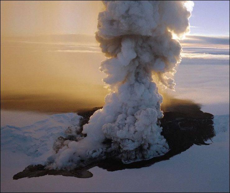Erupcja wulkanu Grímsvötn 9