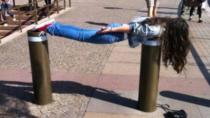 Planking - zabawa w leżenie 60