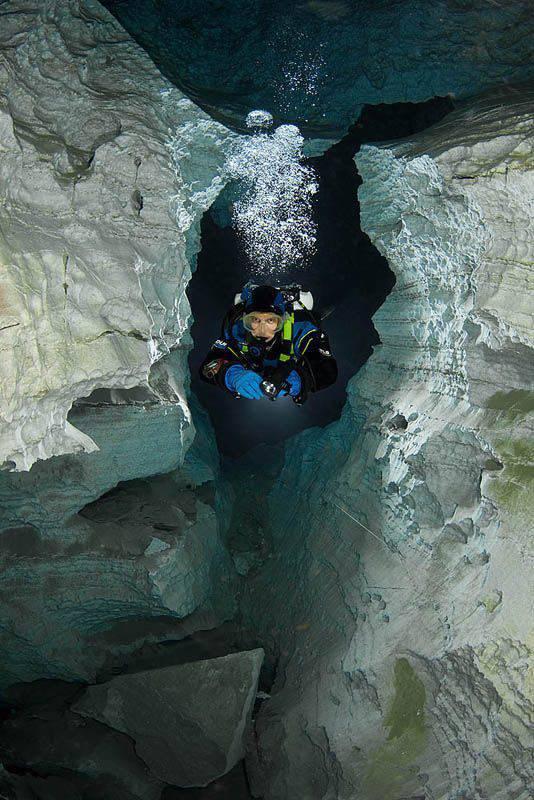 Eksploracja jaskini Orda 4