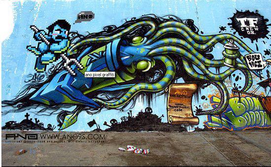 Graffiti - sztuka ulicy 34