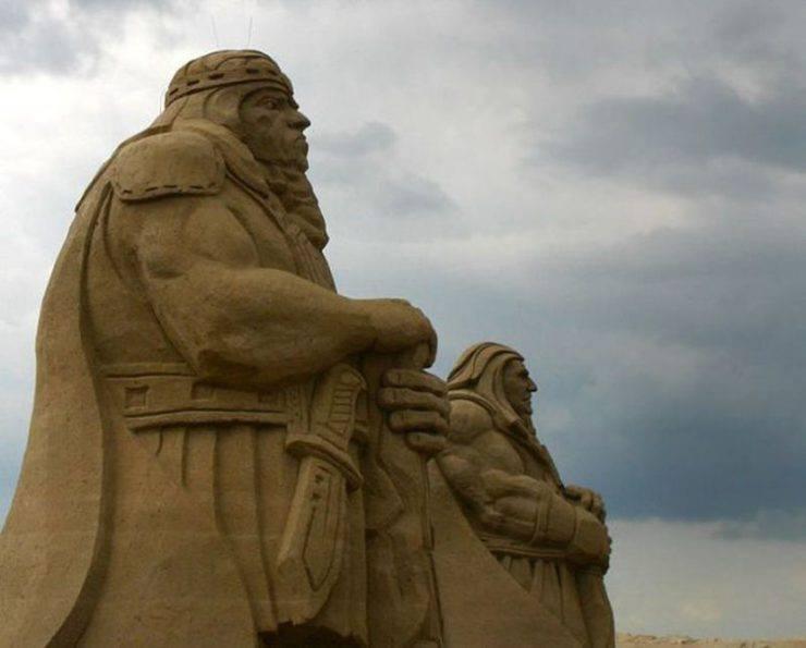Najlepsze rzeźby z piasku na świecie. 14