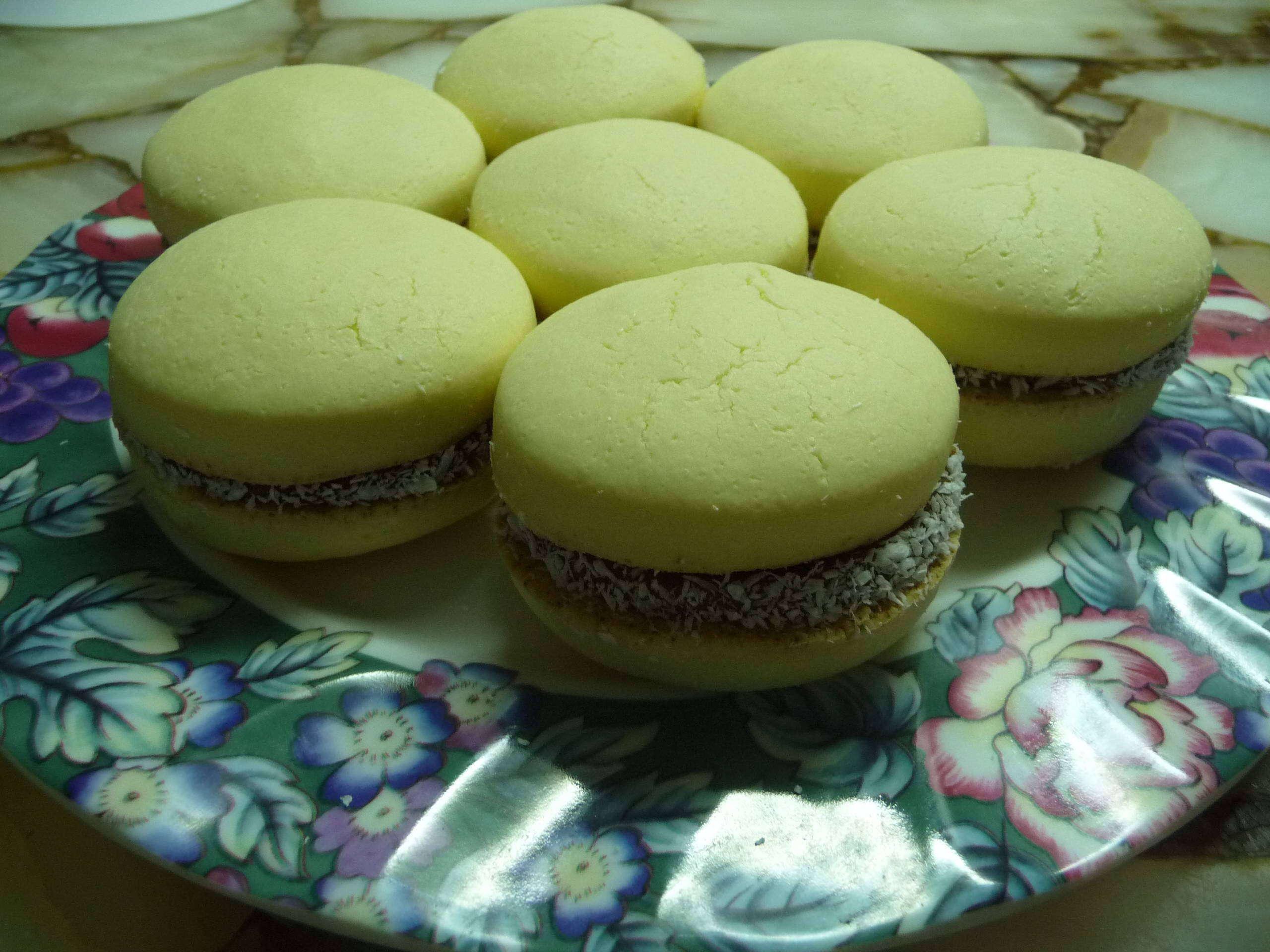 [Foto-receta] Alfajores de maicena (Como los de panaderia)