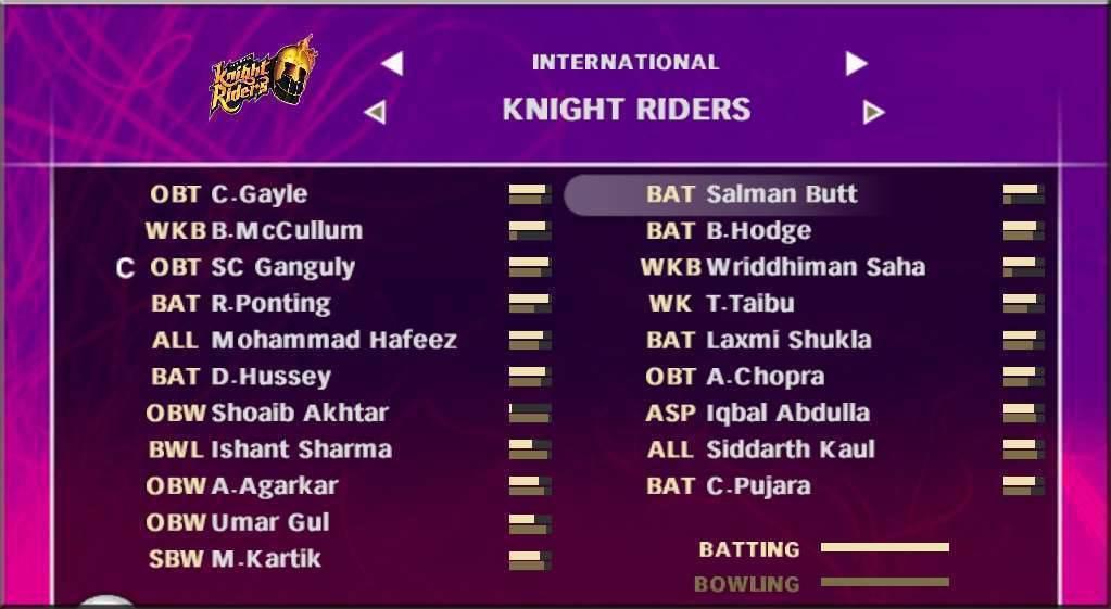 Pc Games: EA Sports Cricket 2008 IPL Patch