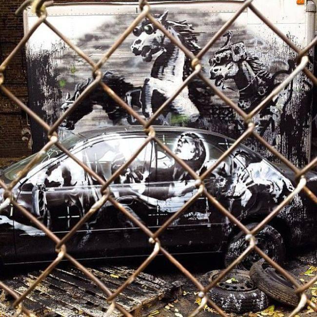 Banksy w Nowym Jorku 20