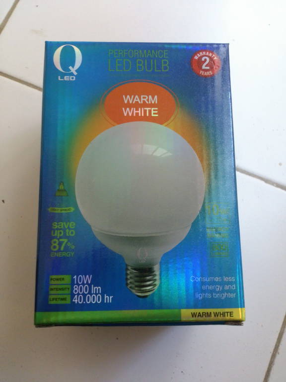 No Protruding Heatsinks Just Plain Sphere Have You Ever Heard Qled Company It S Branded As Krisbow The Owner Of Ace Hardware Franchise Here