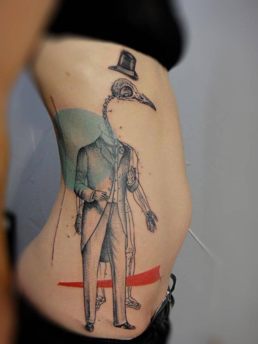 Tatuaże nieco inaczej 15