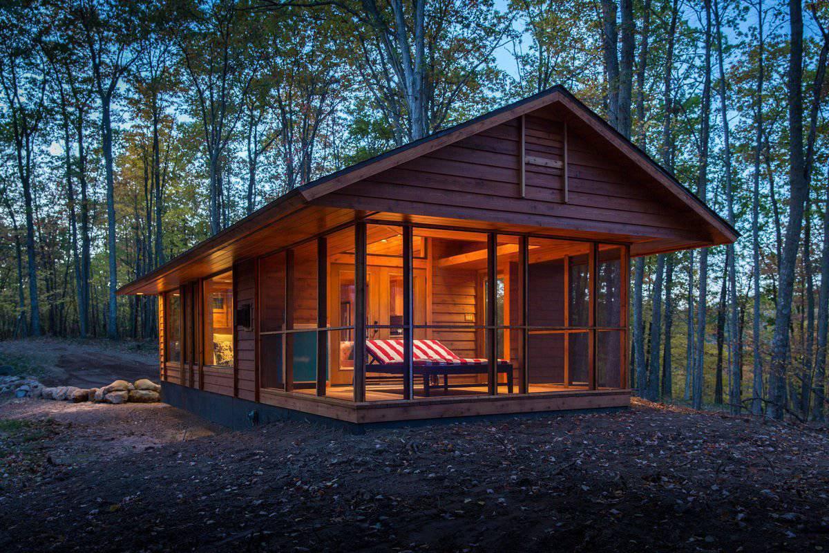 Domek w lesie 9