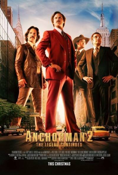 Anchorman 2 The Legend Continues 2013 UNRATED HDRiP XviD AC3-LRT