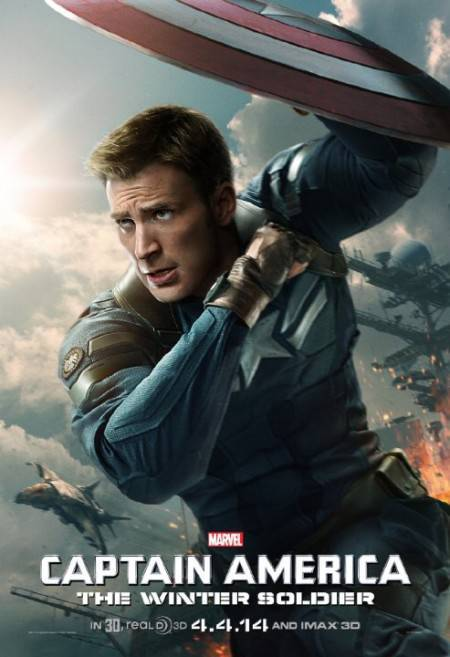 Captain America The Winter Soldier (2014) CAM READNFO XVID-EVE