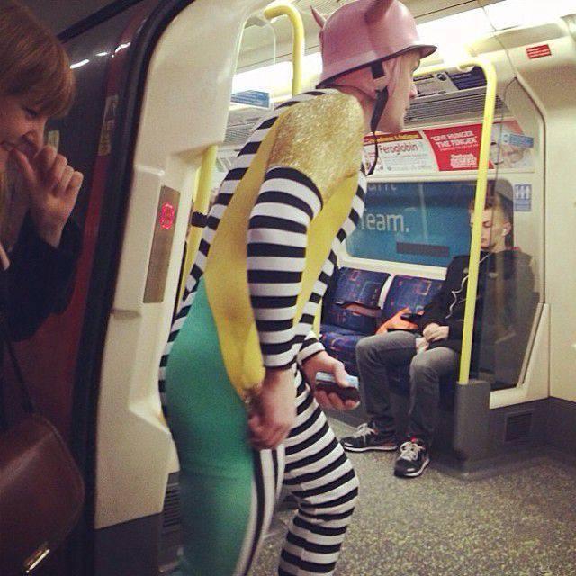 Najdziwniejsi pasażerowie metra 3