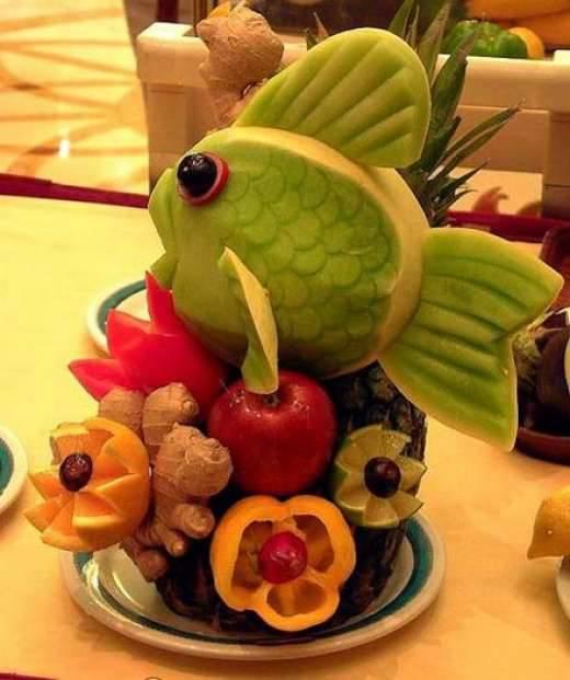 Jedzenie w artystycznej formie 3