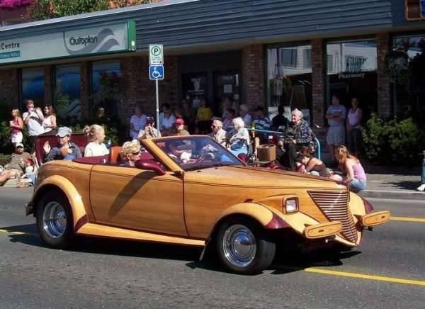 Drewniane samochody 8