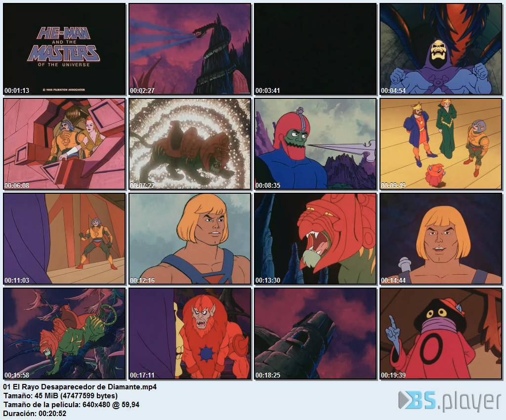 He-Man y los Amos del Universo[1983]