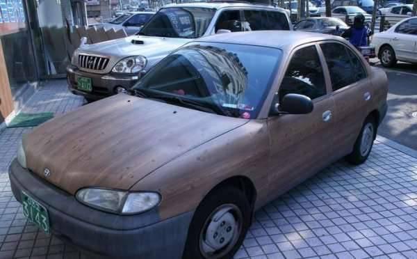 Drewniane samochody 7
