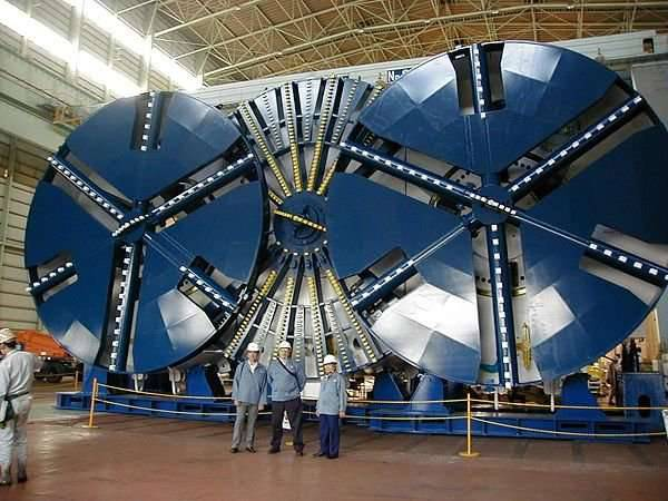 TBM - maszyny-krety drążące tunele 11