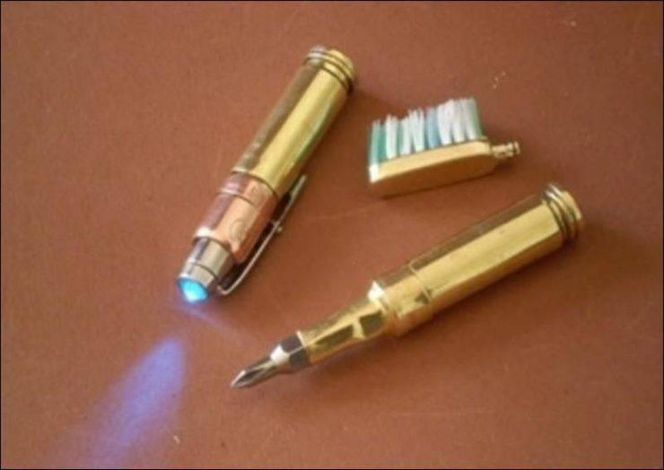 Steampunkowy długopis 8