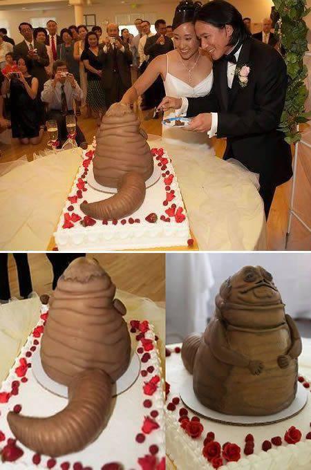 Nietypowe torty ślubne 11
