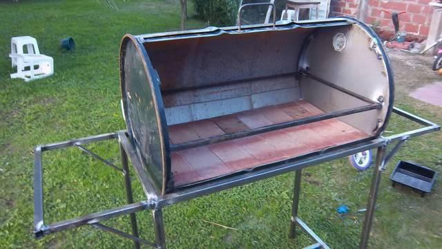 Consulta por chulengo con tambor de combustible for Como hacer una puerta de tambor