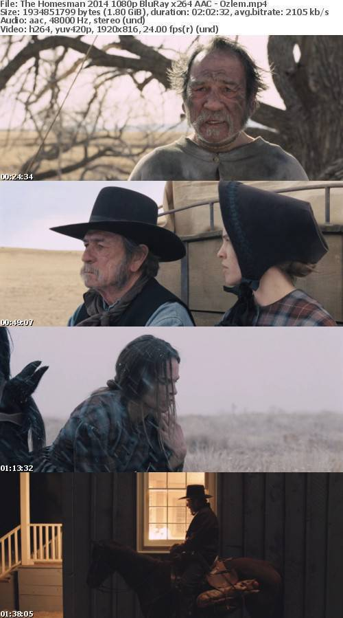 The Homesman 2014 1080p BluRay x264 AAC - Ozlem