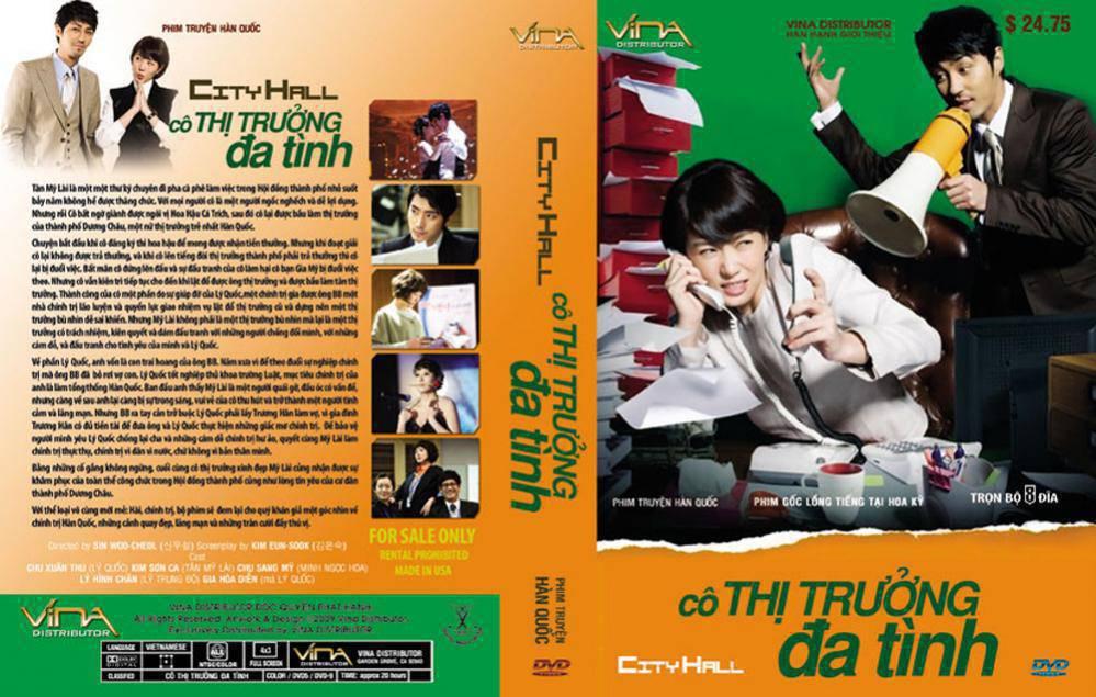 Cô Thị Trưởng Đa Tình ( KOREA - SBS ) 20 Tập USLT