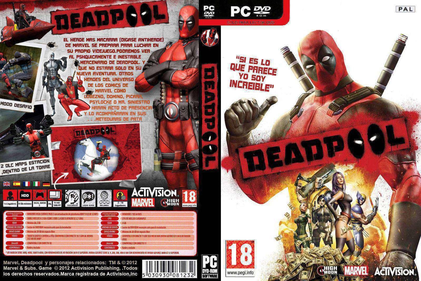 [遊戲大片]Deadpool中文版