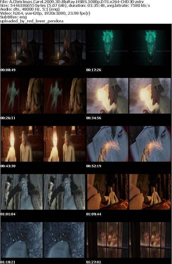 A Christmas Carol 2009 3D BluRay HSBS 1080p DTS x264-CHD3D