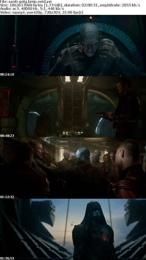 Guardians of the Galaxy 2014 BRRip XviD AC3-SANTi