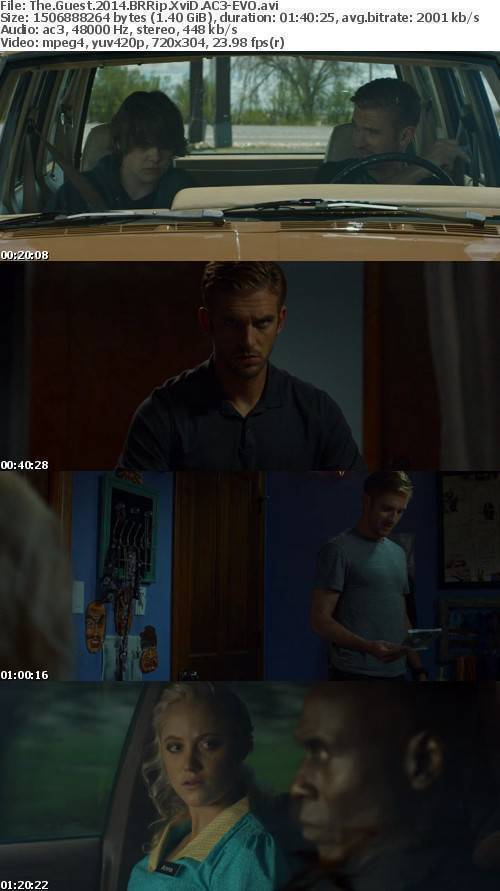 The Guest 2014 BRRip XviD AC3-EVO
