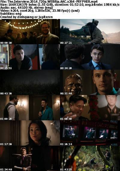 The Interview (2014) 720p WEBRip AAC x264-PSYPHER