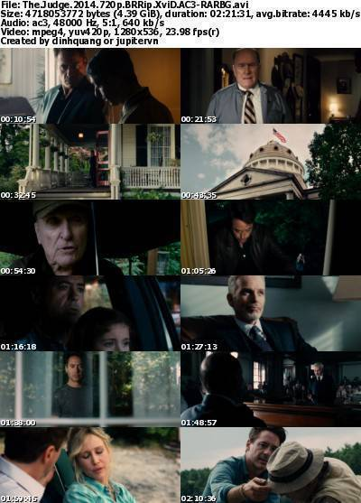 The Judge (2014) 720p BRRip XviD AC3-RARBG