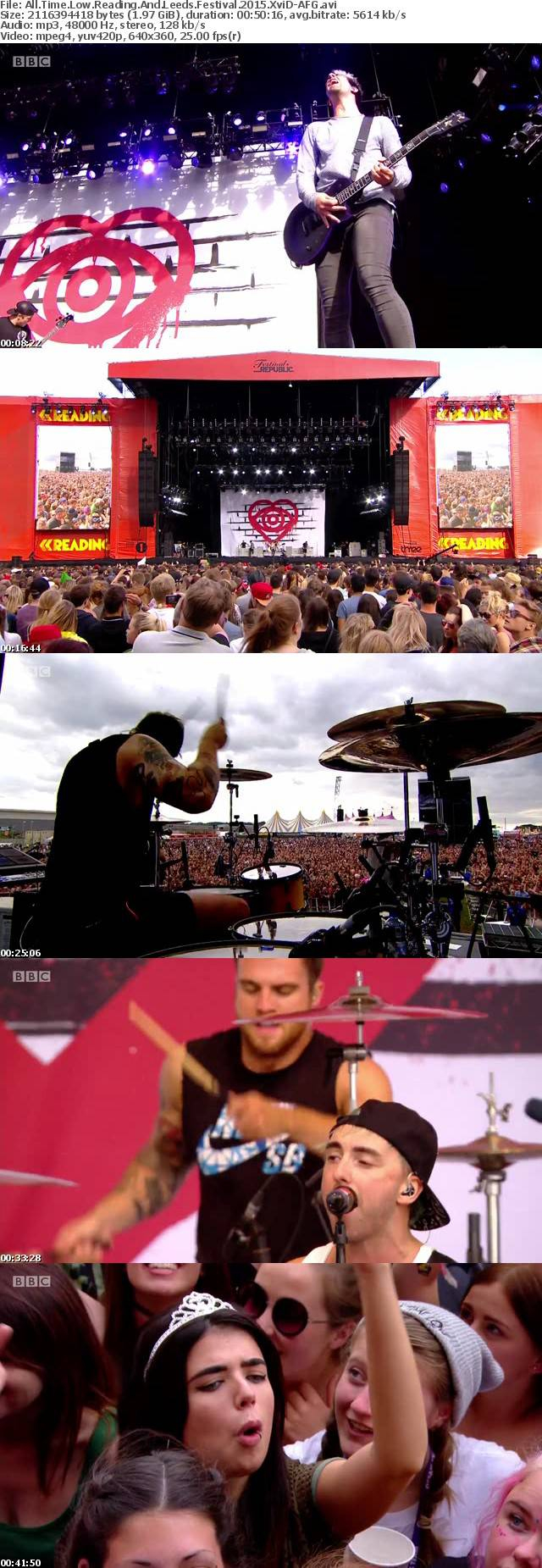 All Time Low Reading And Leeds Festival 2015 XviD-AFG