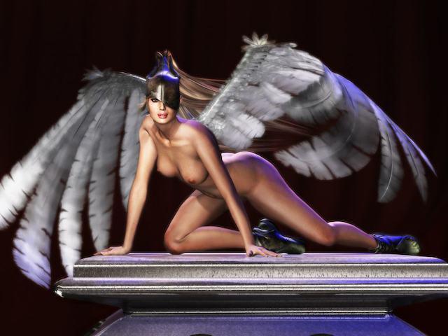 фото голый ангел