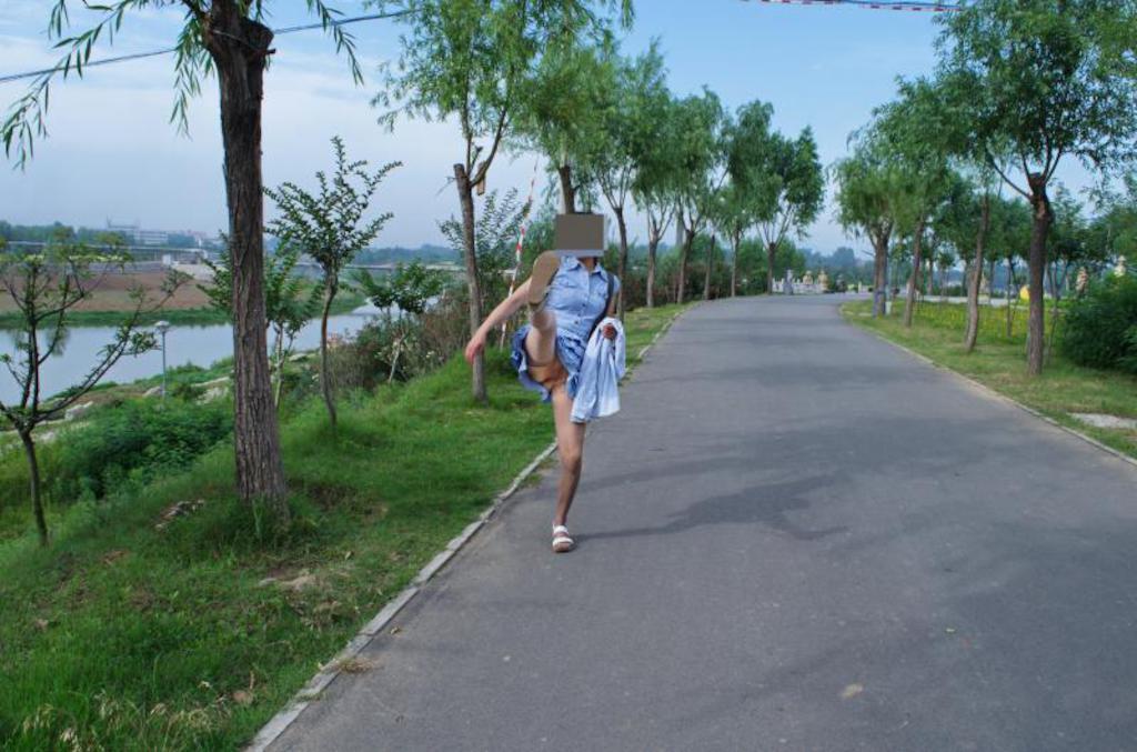 ~早上锻练身体记录真实的印像中国