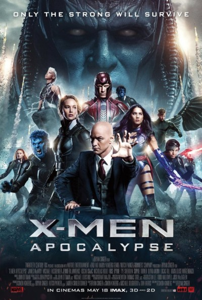 X-Men - Apocalypse 2016 BD-Rip 1080p x265 ac3 6ch aac 2ch -Dtech