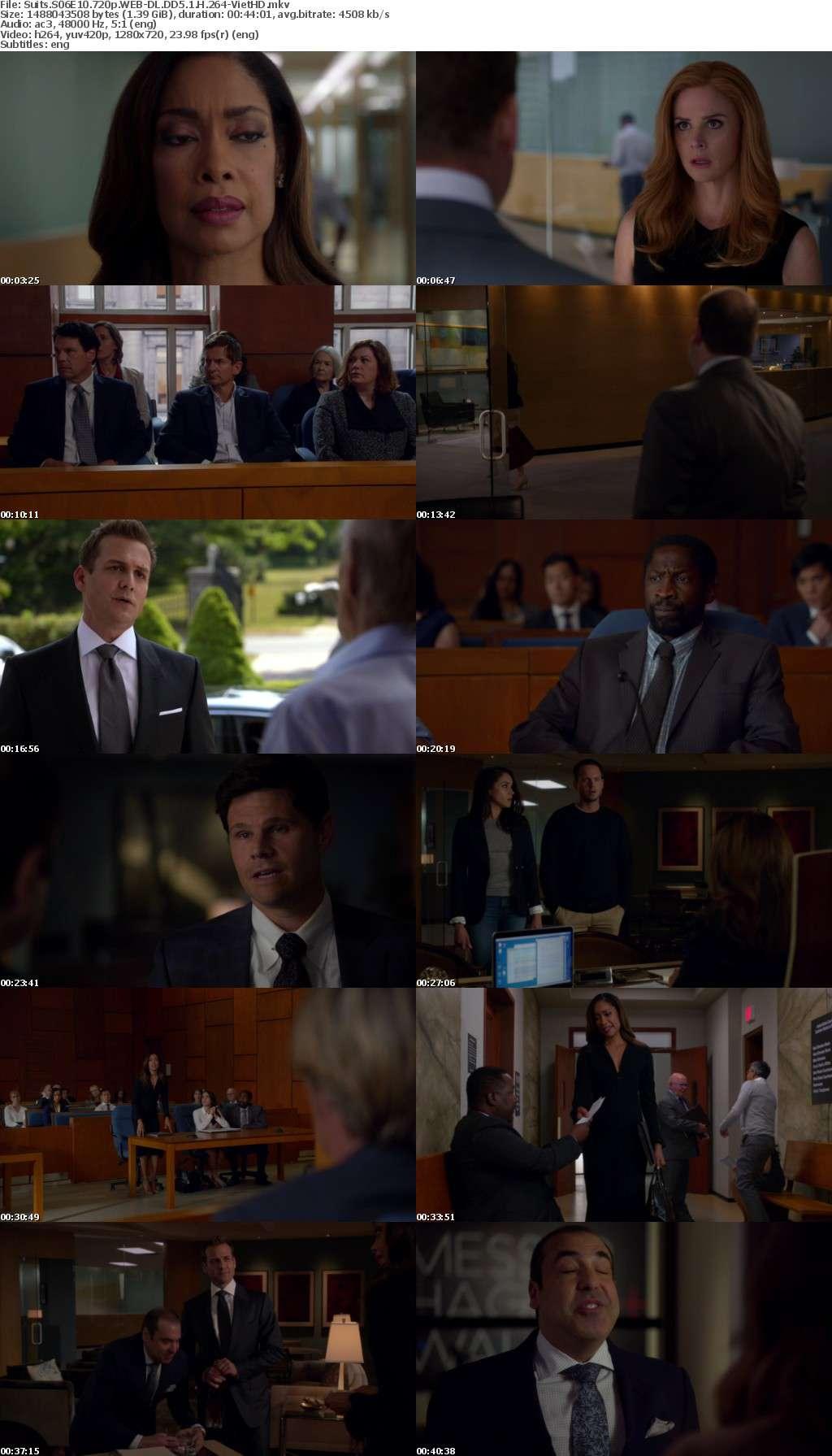 Suits S06E10 720p WEB-DL DD5 1 H 264-VietHD
