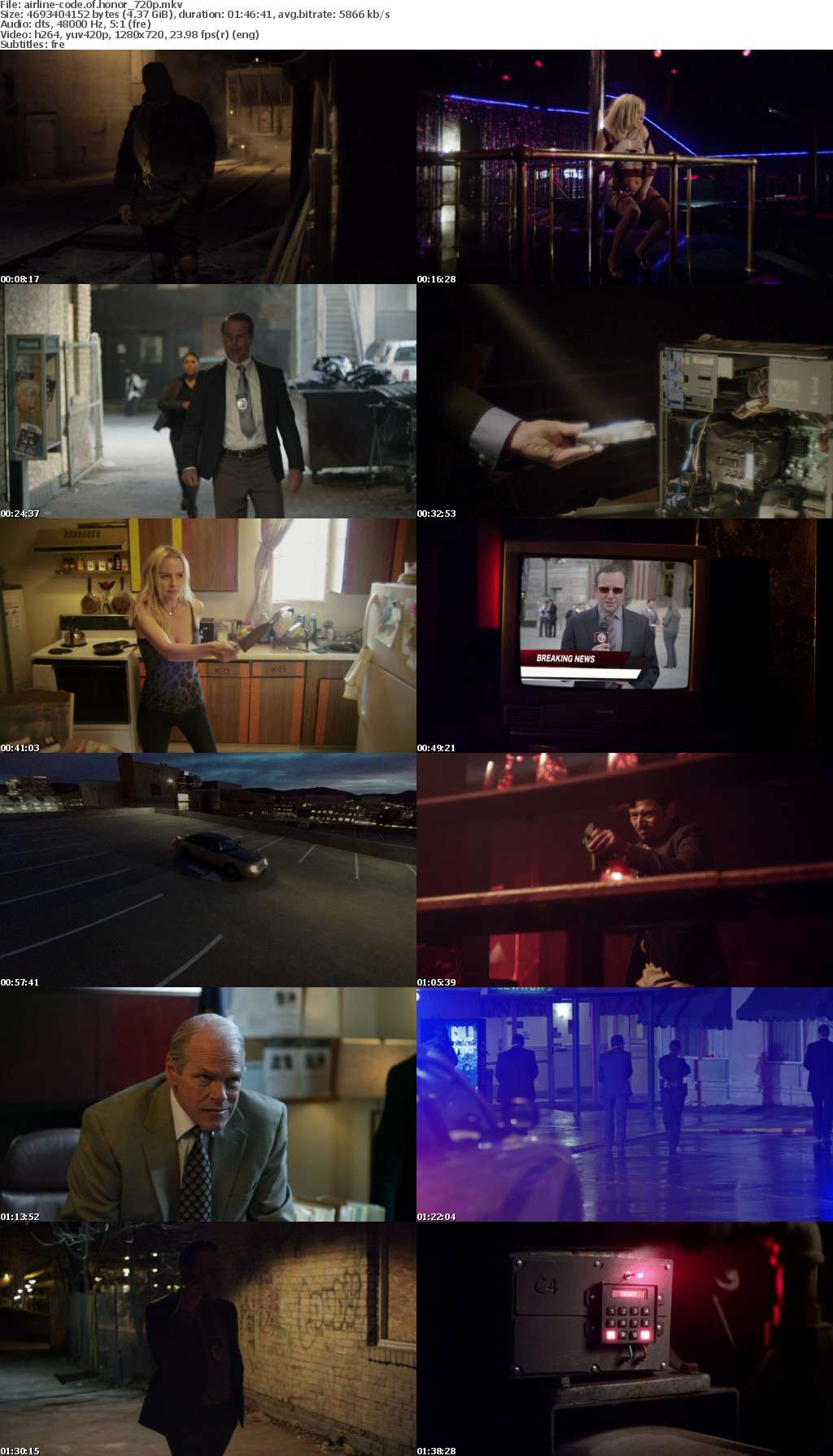 Code of Honor 2016 FRENCH 720p BluRay x264-AiRLiNE