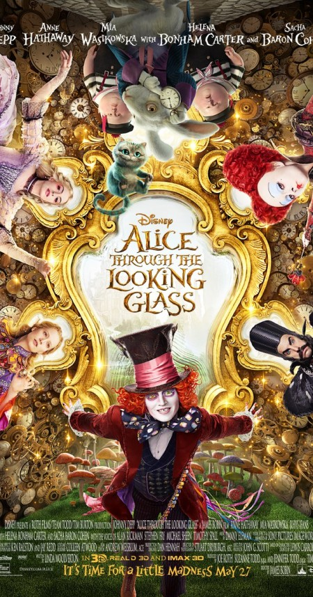 Alice Through the Looking Glass 2016 720p WEBRip x264 AAC ETRG
