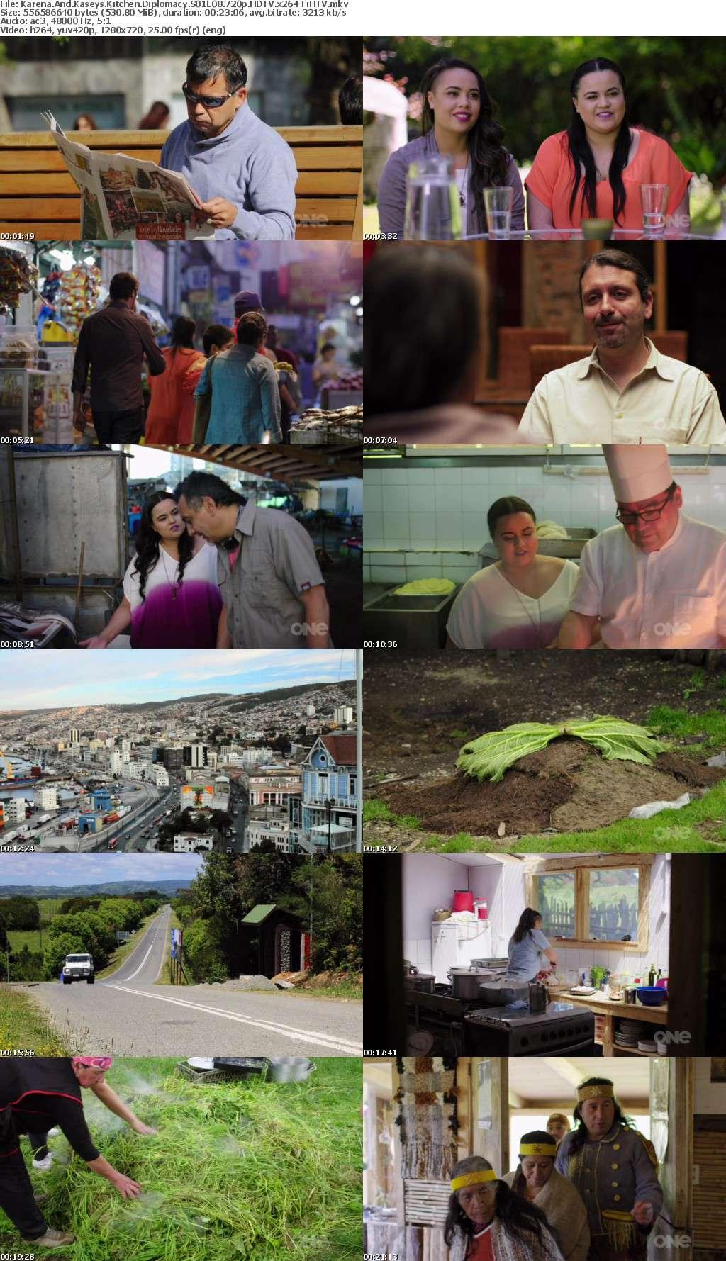 Karena And Kaseys Kitchen Diplomacy S01E08 720p HDTV x264-FiHTV