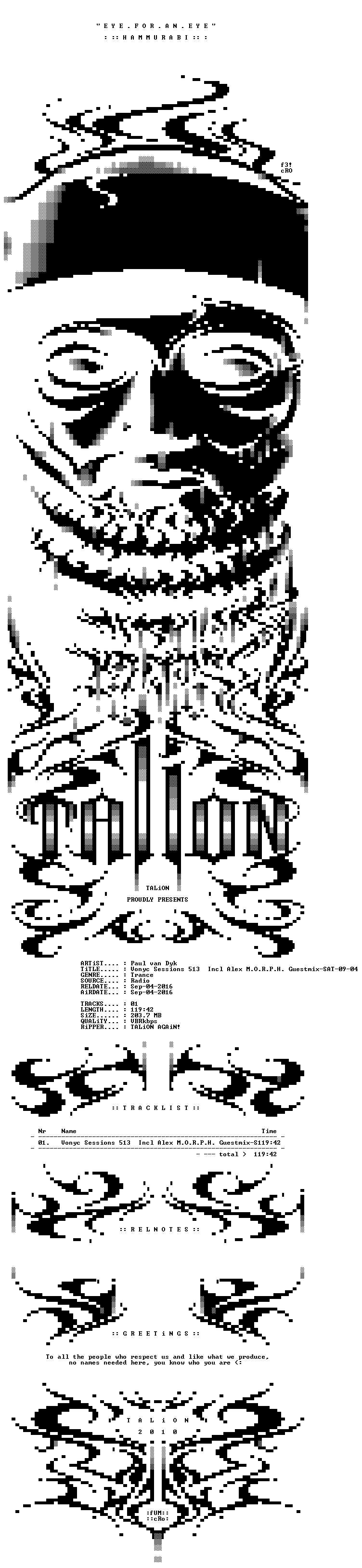 Paul van Dyk - Vonyc Sessions 513 Incl Alex M O R P H Guestmix-SAT-09-04-2016-TALiON