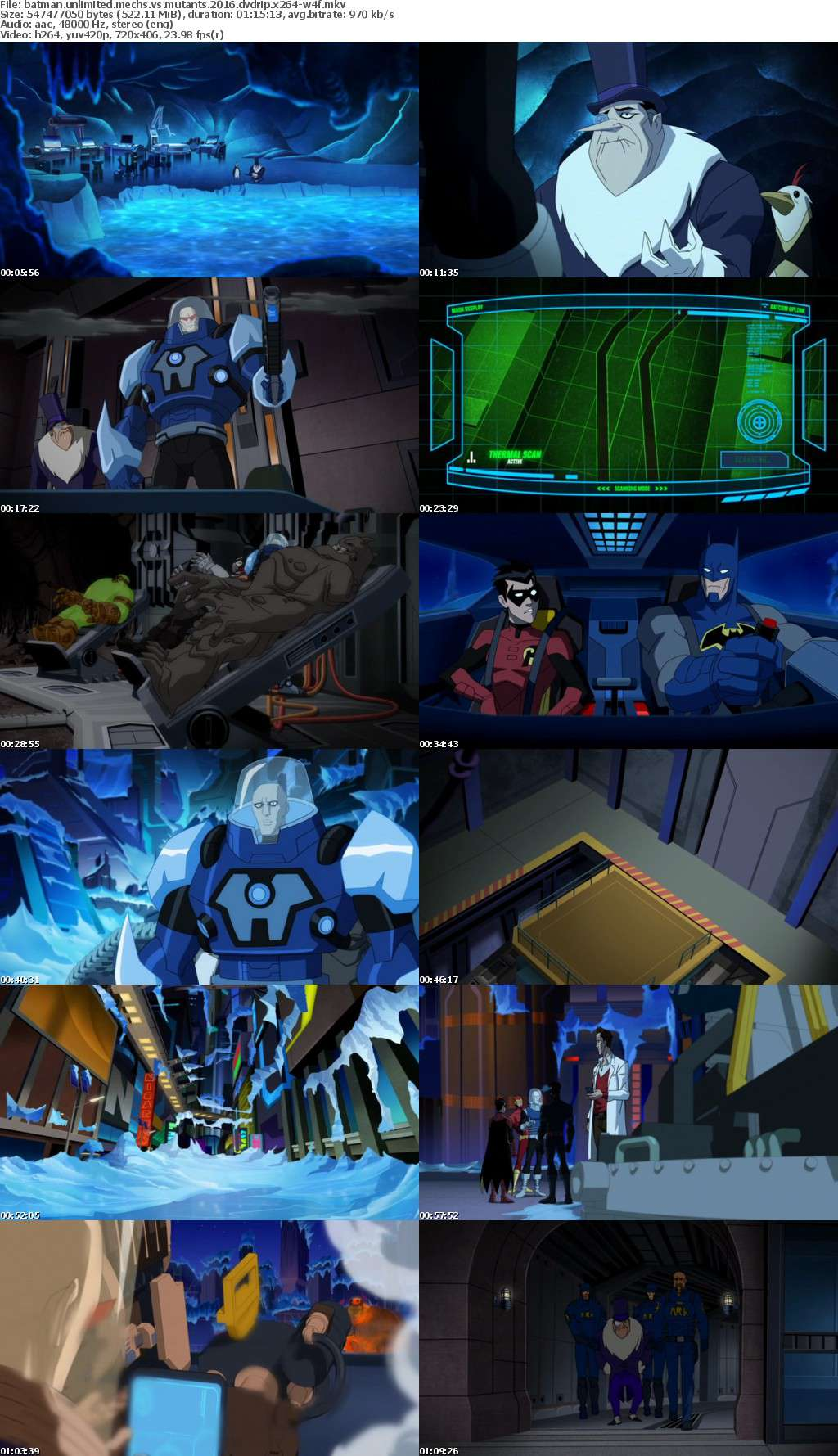 Batman Unlimited Mechs vs Mutants 2016 DVDRip x264-W4F
