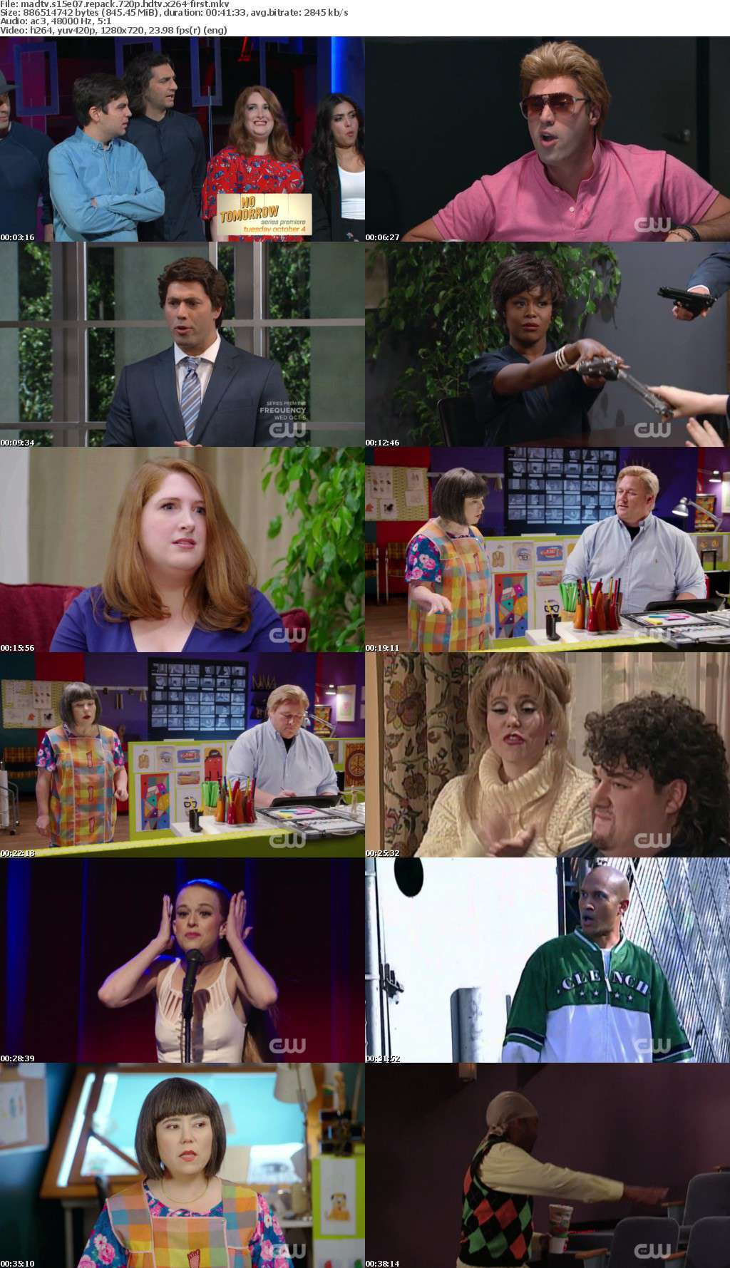 MadTV S15E07 REPACK 720p HDTV x264-FIRST