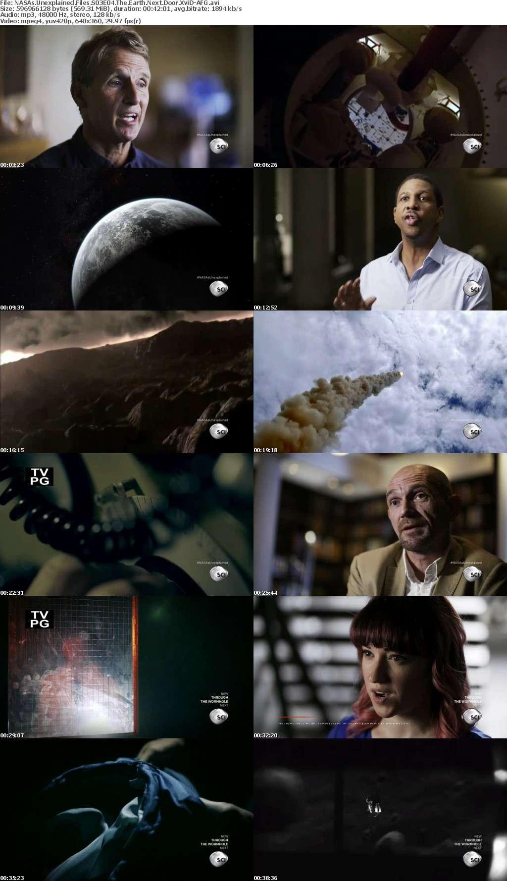 NASAs Unexplained Files S03E04 The Earth Next Door XviD-AFG