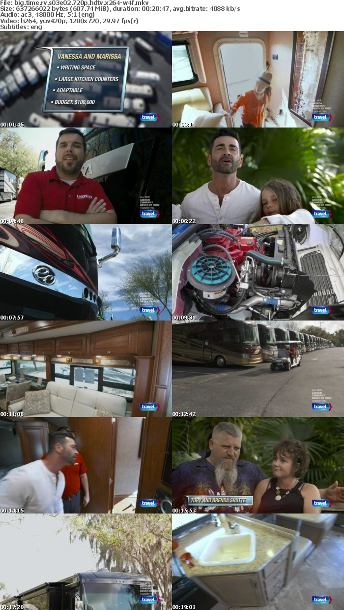 Big Time RV S03E02 720p HDTV x264-W4F