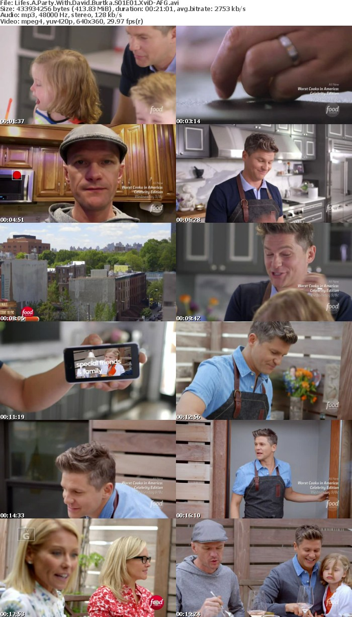 Lifes A Party With David Burtka S01E01 XviD-AFG