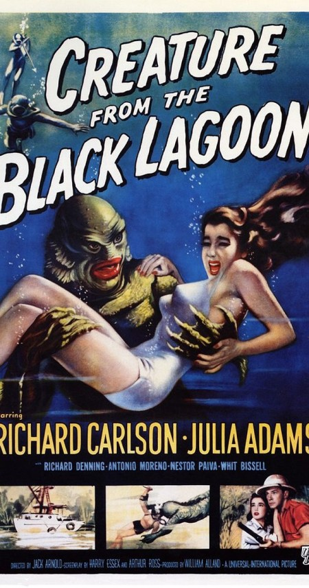 Creature From The Black Lagoon 1954 COMPLETE BLURAY-TAPAS