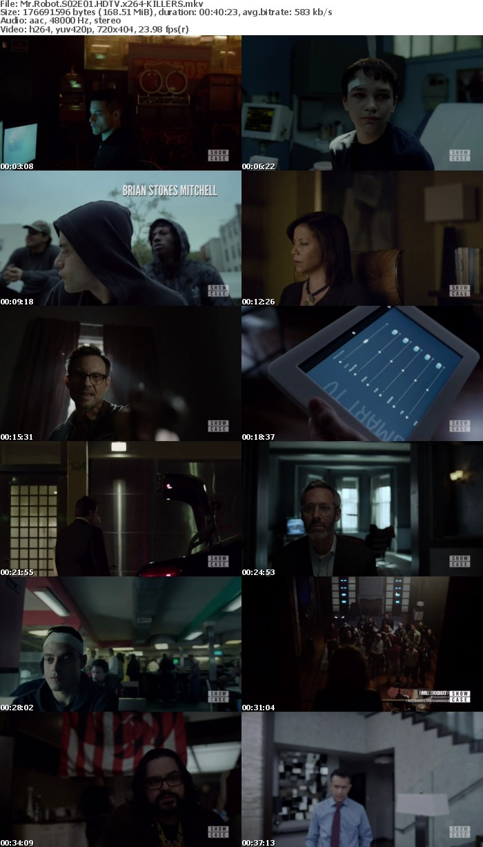 Mr Robot S02 HDTV x264