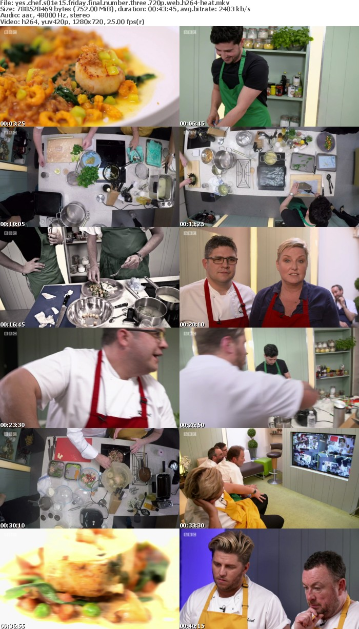 Yes Chef S01E15 Friday Final Number Three 720p WEB h264-HEAT