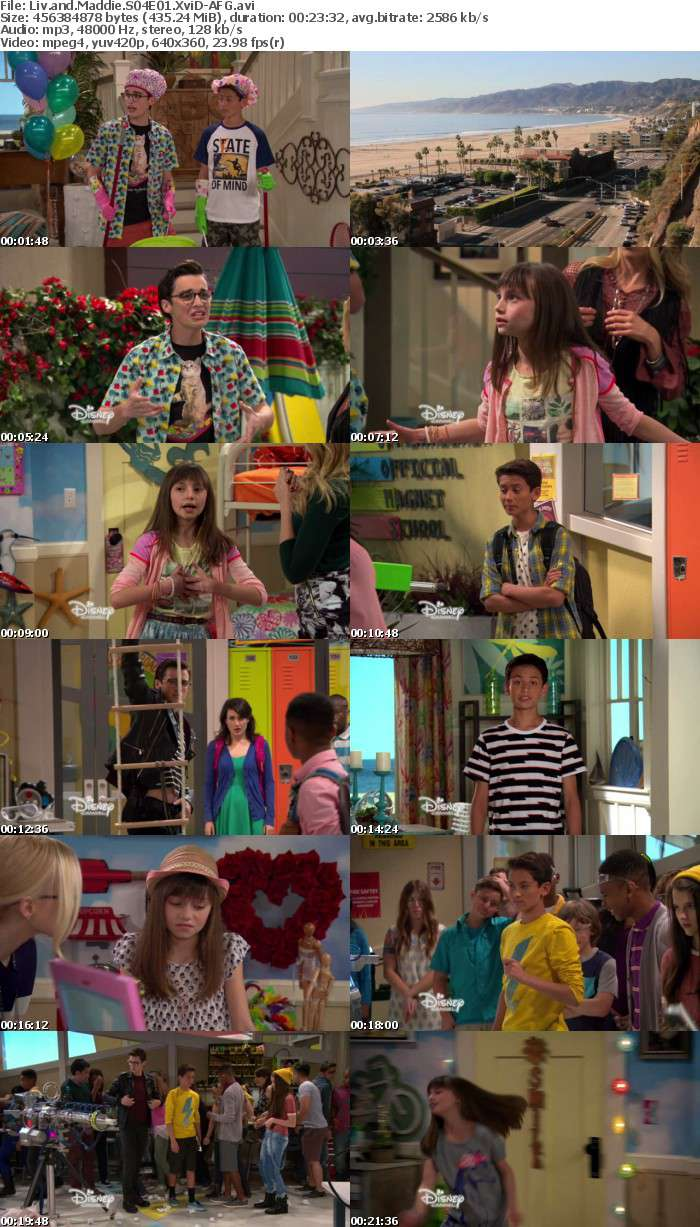 Liv and Maddie S04E01 XviD-AFG