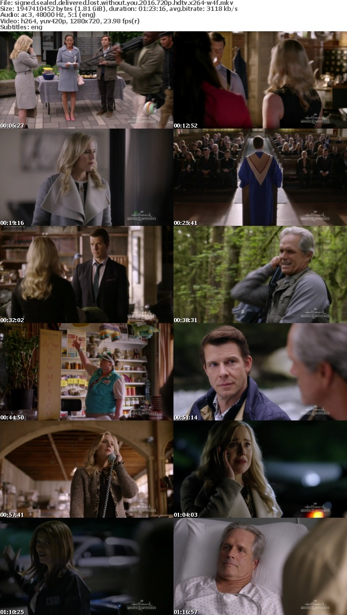 Signed Sealed Delivered Lost Without You 2016 720p HDTV x264-W4F